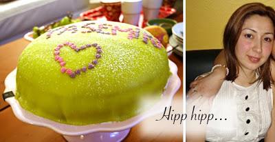 Hipp hipp hurra: Prinsesstårta