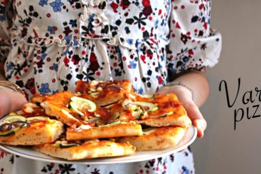 Pizza-zuchini