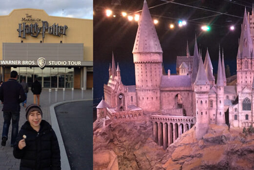 Harry Potter museet i watford