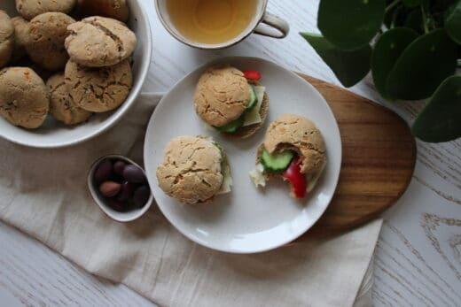 Glutenfria morotsfrallor med bovete