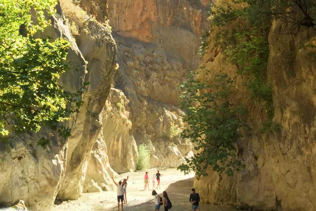 Saklikent kanjon national park