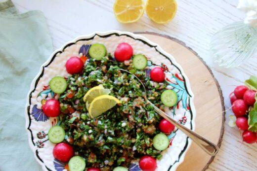 tabbouleh recept